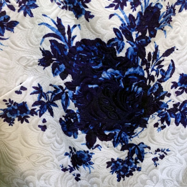 Blue pattern at Clementine